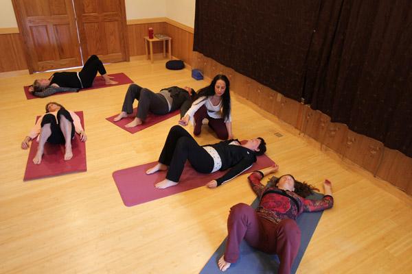 Photo of Jillian Frazin Doing Divine Life Activation group session