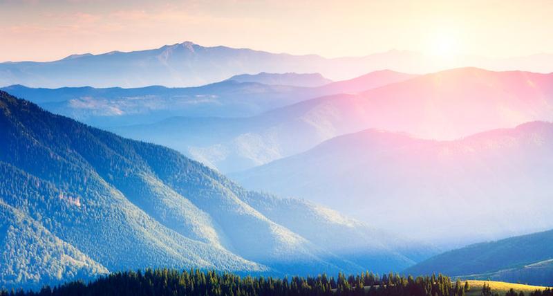beautiful mountains landscape - Jillian Frazin - Blessings of Jasmine
